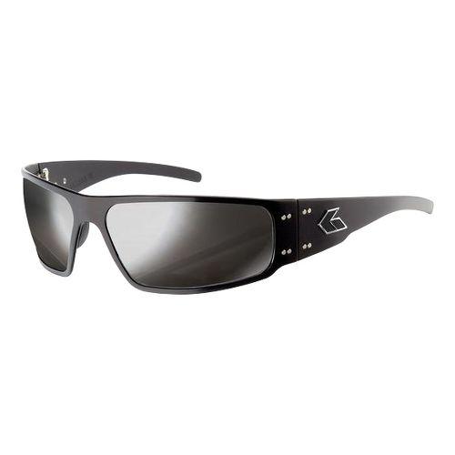 Mens Gatorz Magnum Sunglasses - Black/Smoke Chrome