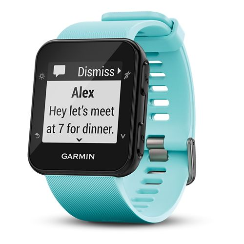 Garmin Forerunner 35 GPS + Wrist HRM Running Watch Monitors - Frost Blue
