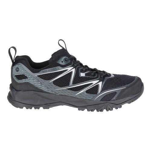 Mens Merrell Capra Bolt Air Hiking Shoe - Black 10.5