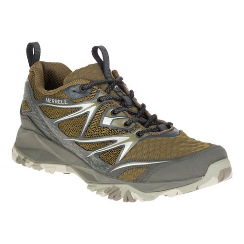 Mens Merrell Capra Bolt Air Hiking Shoe - Olive 8.5