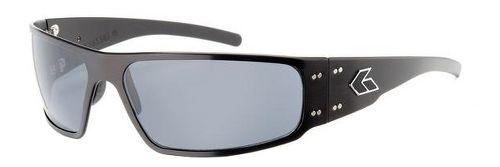 Mens Gatorz Magnum Sunglasses - Black/Polarized
