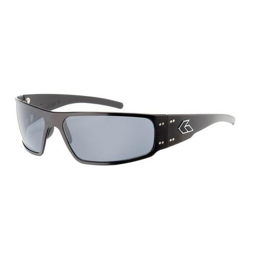 Mens Gatorz Magnum Sunglasses - Black/Polarized