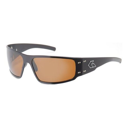 Mens Gatorz Magnum Sunglasses - Brown/Polarized