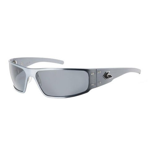 Mens Gatorz Magnum Sunglasses - Gun Metal/Polarized