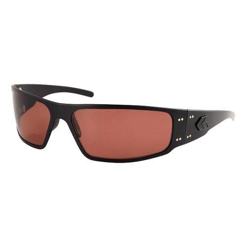 Mens Gatorz Magnum Sunglasses - Polished/Smoke Blue