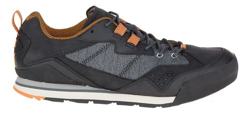 Mens Merrell Burnt Rock Casual Shoe - Black 7