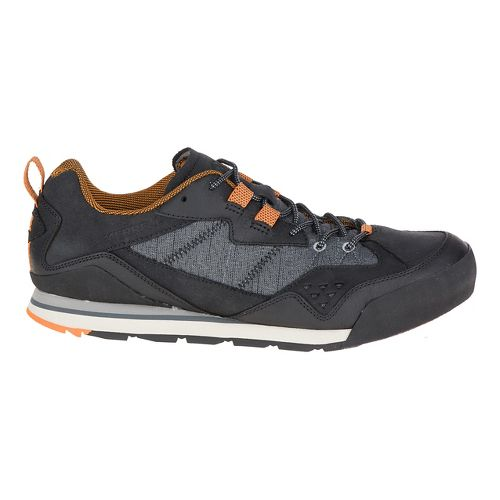 Mens Merrell Burnt Rock Casual Shoe - Black 10.5