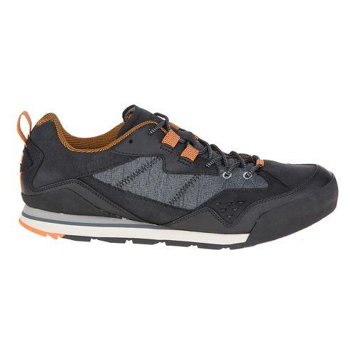 Mens Merrell Burnt Rock Casual Shoe - Black 10.5