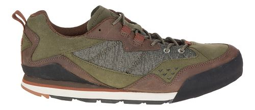 Mens Merrell Burnt Rock Casual Shoe - Dusty Olive 11.5