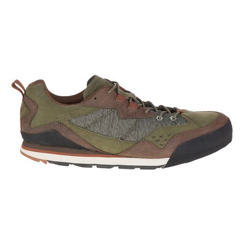 Mens Merrell Burnt Rock Casual Shoe - Dusty Olive 10