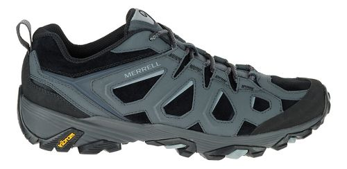 Mens Merrell Moab FST LTR Hiking Shoe - Black/Granite 10.5
