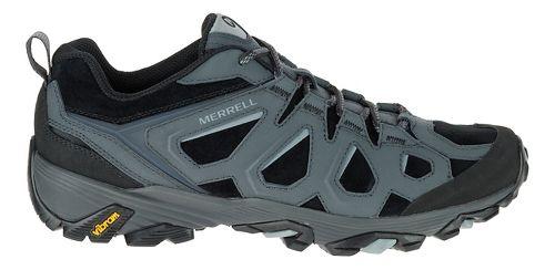 Mens Merrell Moab FST LTR Hiking Shoe - Black/Granite 8