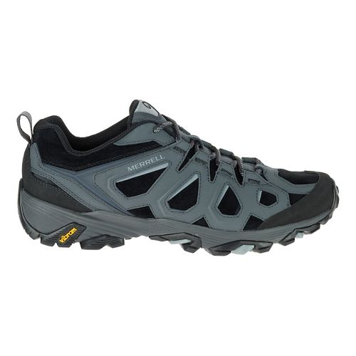 Mens Merrell Moab FST LTR Hiking Shoe - Black/Granite 8.5