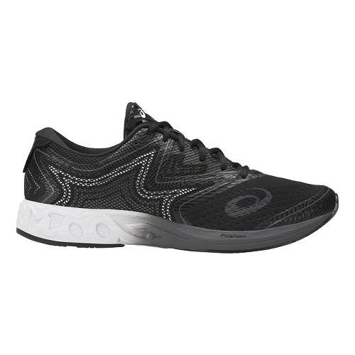 Mens ASICS Noosa FF Running Shoe - Black/White 10.5
