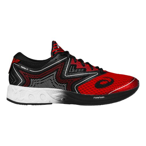Mens ASICS Noosa FF Running Shoe - Vermillion/White 7