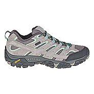 Womens Merrell Moab 2 Waterproof Hiking Shoe - Dizzle/Mint 9