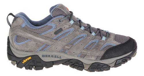 Womens Merrell Moab 2 Waterproof Hiking Shoe - Granite 10.5
