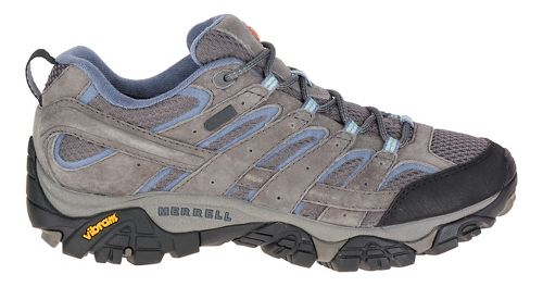 Womens Merrell Moab 2 Waterproof Hiking Shoe - Granite 5.5
