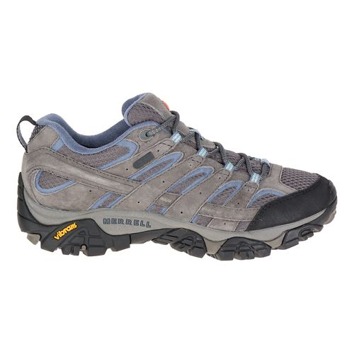 Womens Merrell Moab 2 Waterproof Hiking Shoe - Granite 5