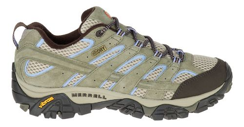 Womens Merrell Moab 2 Waterproof Hiking Shoe - Dusty Olive 5.5