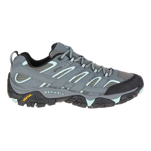 Womens Merrell Moab 2 GTX Hiking Shoe - Sedona Sage 8.5