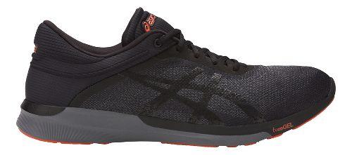 Mens ASICS fuzeX Rush Running Shoe - Black/Carbon 10.5