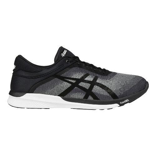Mens ASICS fuzeX Rush Running Shoe - Grey/Black 10.5