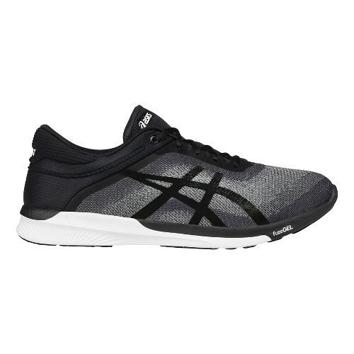 Mens ASICS fuzeX Rush Running Shoe - Grey/Black 12.5