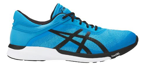 Mens ASICS fuzeX Rush Running Shoe - Aqua/Black 10.5