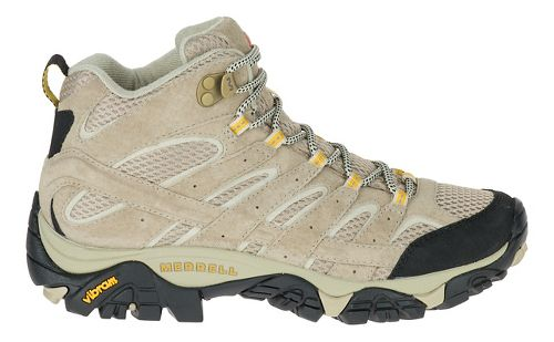 Womens Merrell Moab 2 Vent Mid Trail Running Shoe - Taupe 9.5