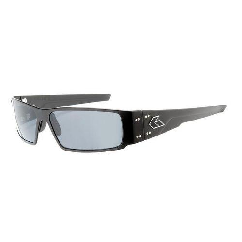 Mens Gatorz Octane Sunglasses - Black/Smoke