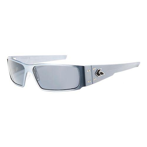 Mens Gatorz Octane Sunglasses - Gun Metal/Smoke