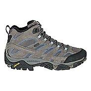 Womens Merrell Moab 2 Mid Waterproof Hiking Shoe - Granite 7