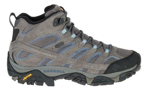 Womens Merrell Moab 2 Mid Waterproof Hiking Shoe - Granite 9.5