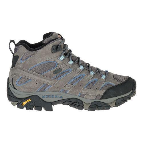 Womens Merrell Moab 2 Mid Waterproof Hiking Shoe - Granite 10.5