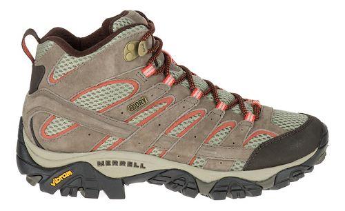 Womens Merrell Moab 2 Mid Waterproof Hiking Shoe - Bungee Cord 9