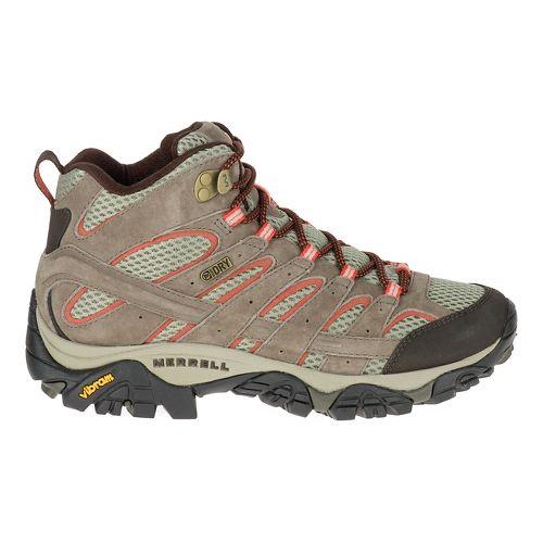 Womens Merrell Moab 2 Mid Waterproof Hiking Shoe - Bungee Cord 6.5