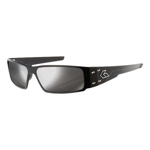 Mens Gatorz Octane Sunglasses - Black/Smoke Chrome