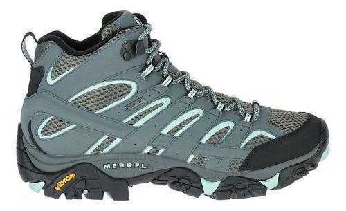 Womens Merrell Moab 2 Mid GTX Trail Running Shoe - Sedona Sage 5.5