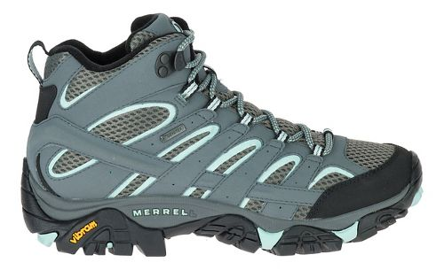 Womens Merrell Moab 2 Mid GTX Trail Running Shoe - Sedona Sage 8.5