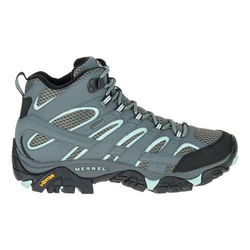 Womens Merrell Moab 2 Mid GTX Trail Running Shoe - Sedona Sage 11