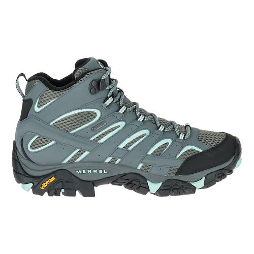 Womens Merrell Moab 2 Mid GTX Trail Running Shoe - Sedona Sage 7.5