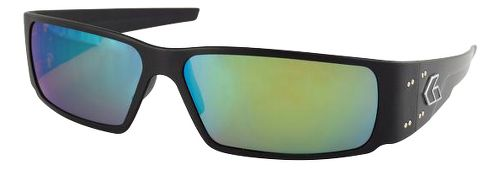 Mens Gatorz Octane Sunglasses - Black/Polarized