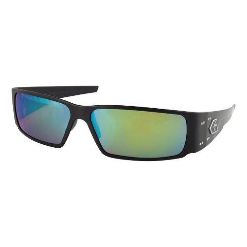 Mens Gatorz Octane Sunglasses - Black/Polarized