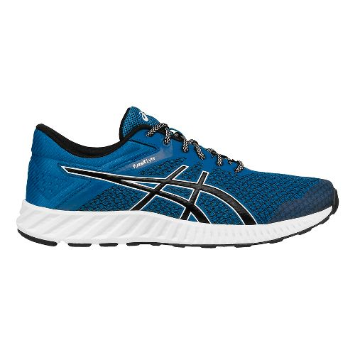 Mens ASICS fuzeX Lyte 2 Running Shoe - Blue/Black 12.5