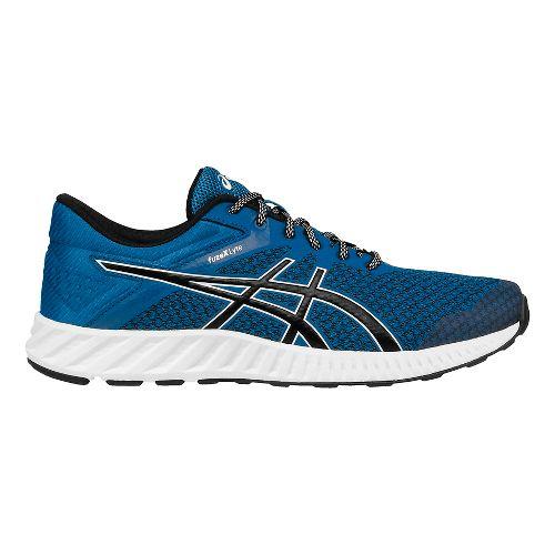 Mens ASICS fuzeX Lyte 2 Running Shoe - Blue/Black 8