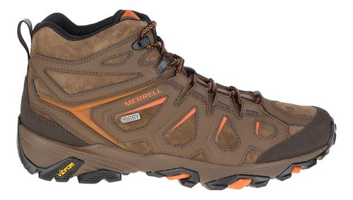 Mens Merrell Moab Fst Ltr Mid Waterproof Hiking Shoe - Dark Earth 9