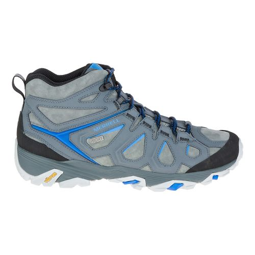 Mens Merrell Moab Fst Ltr Mid Waterproof Hiking Shoe - Turbulence 11