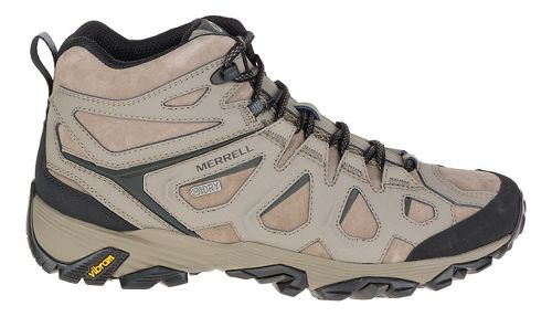 Mens Merrell Moab Fst Ltr Mid Waterproof Hiking Shoe - Boulder 12