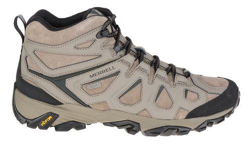 Mens Merrell Moab Fst Ltr Mid Waterproof Hiking Shoe - Boulder 9.5
